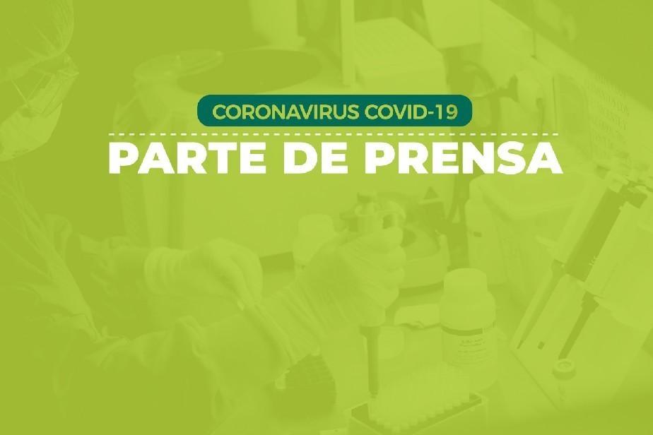 COVID-19: Parte de prensa (14/01)
