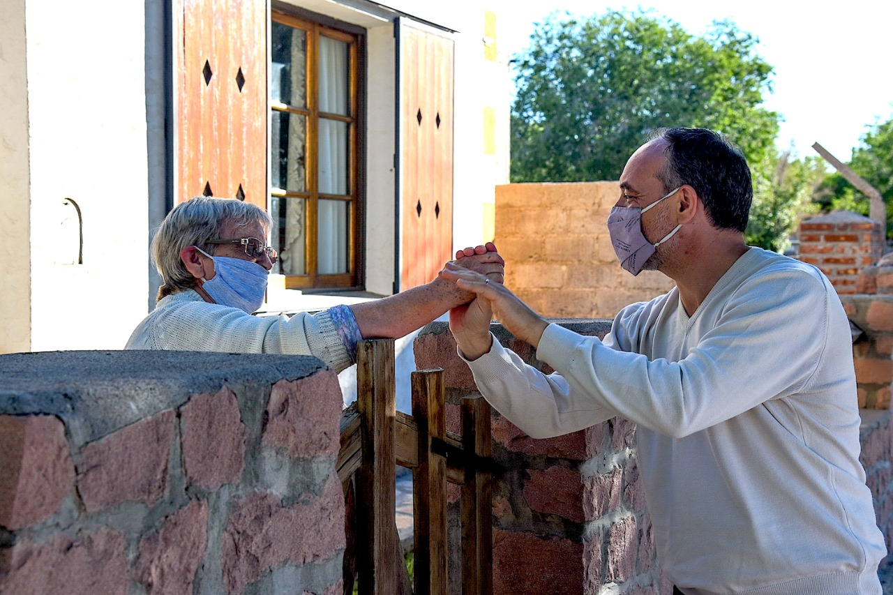 En la ciudad de Catriel, el Senador Nacional DOÑATE anuncia la instalación de una OFICINA DE ANSES