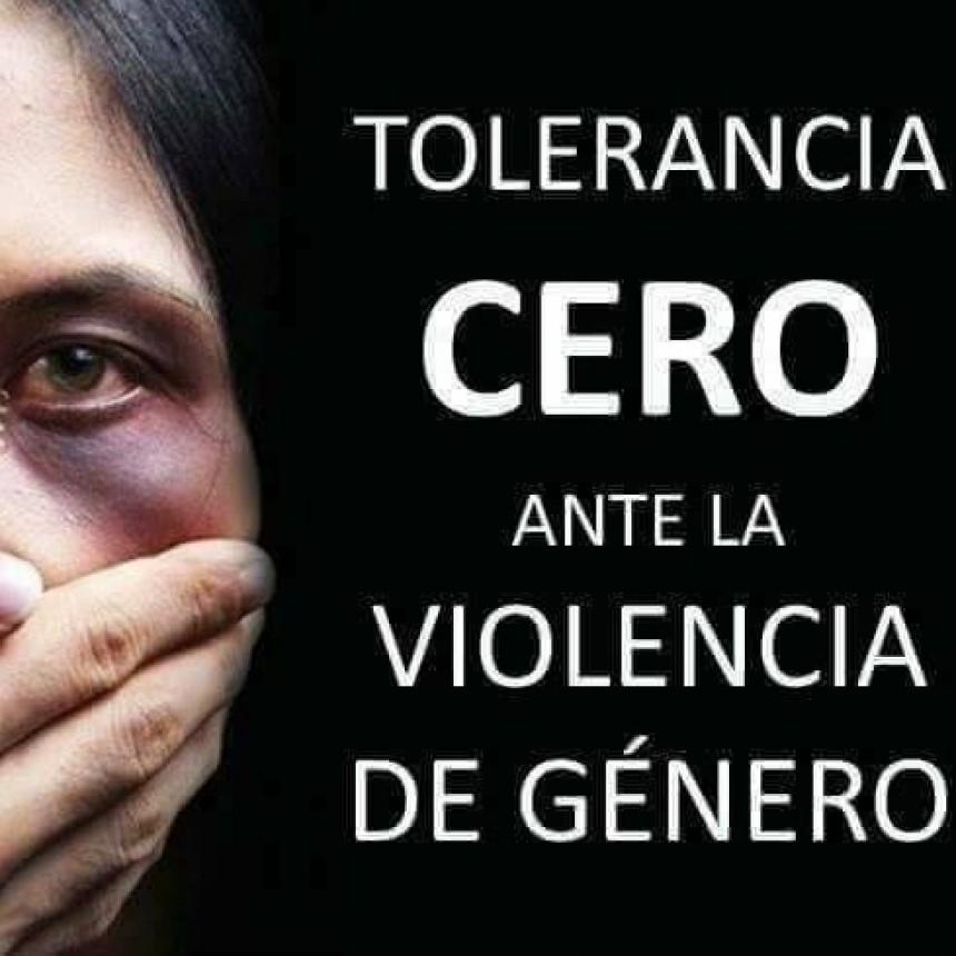 """Intendente Mariano Lavín de General Fernández Oro,  """"TENEMOS TOLERANCIA CERO ANTE LA VIOLENCIA DE GÉNERO""""."""