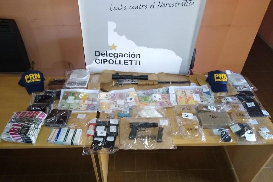 Se realizaron 10 allanamientos en Catriel y en Neuquén.