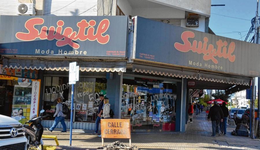 Suixtil cierra en Neuquén por el desplome de ventas