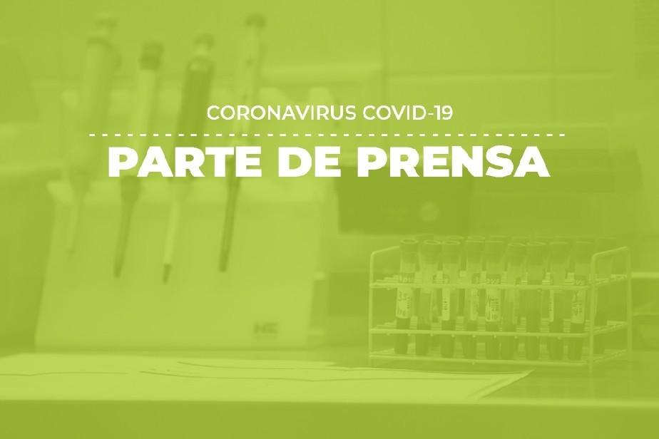 Parte de prensa, COVID-19