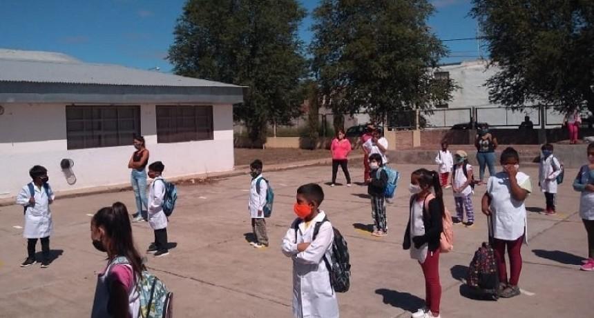 El resultado de un relevamiento del Ministerio de Educación y Derechos Humanos en los 15 Consejos Escolares indica que el 83 % de los establecimientos educativos de la provincia comenzaron las clases en forma presencial.