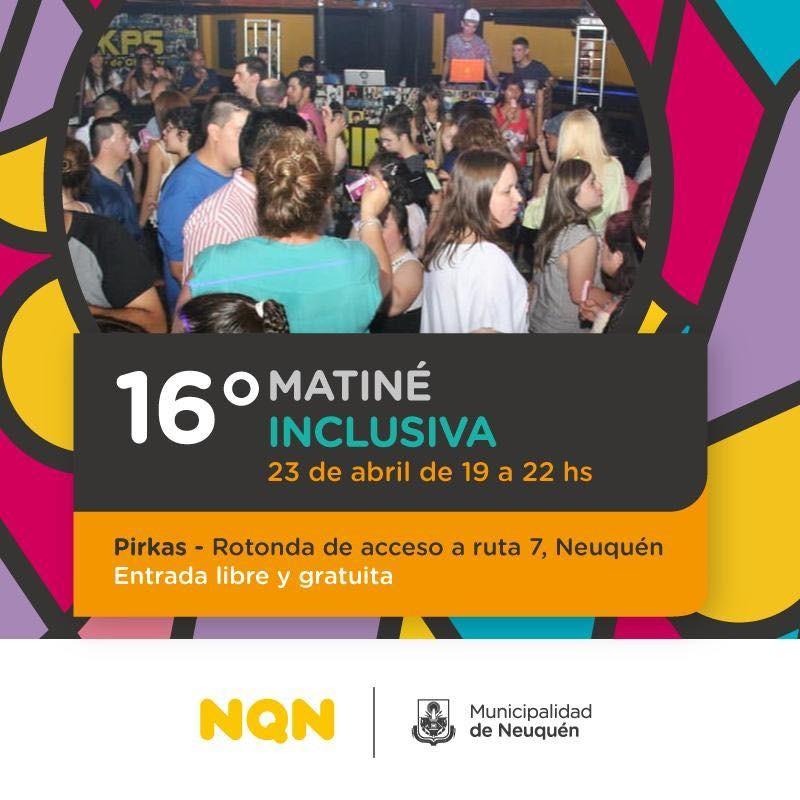 Se realizará la 16° edición de la Matiné Inclusiva