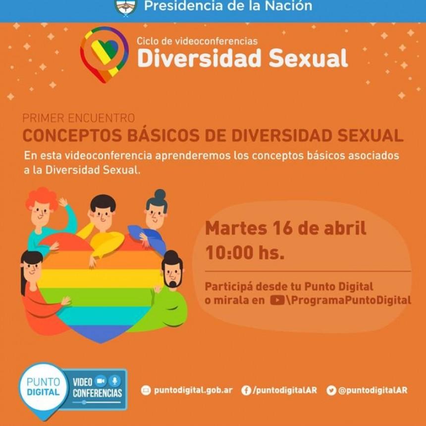 Ciclo de videoconferencias: diversidad sexual