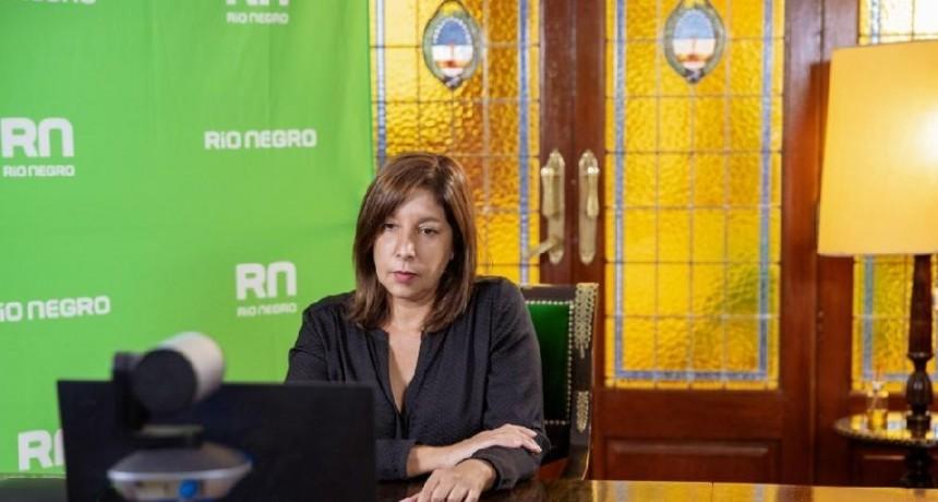 La Gobernadora Arabela Carreras felicitó la iniciativa del Gobierno Nacional de lanzar una línea de crédito