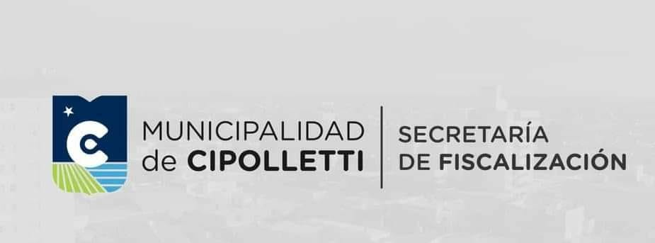 Fiscalización de la ciudad de Cipolletti.
