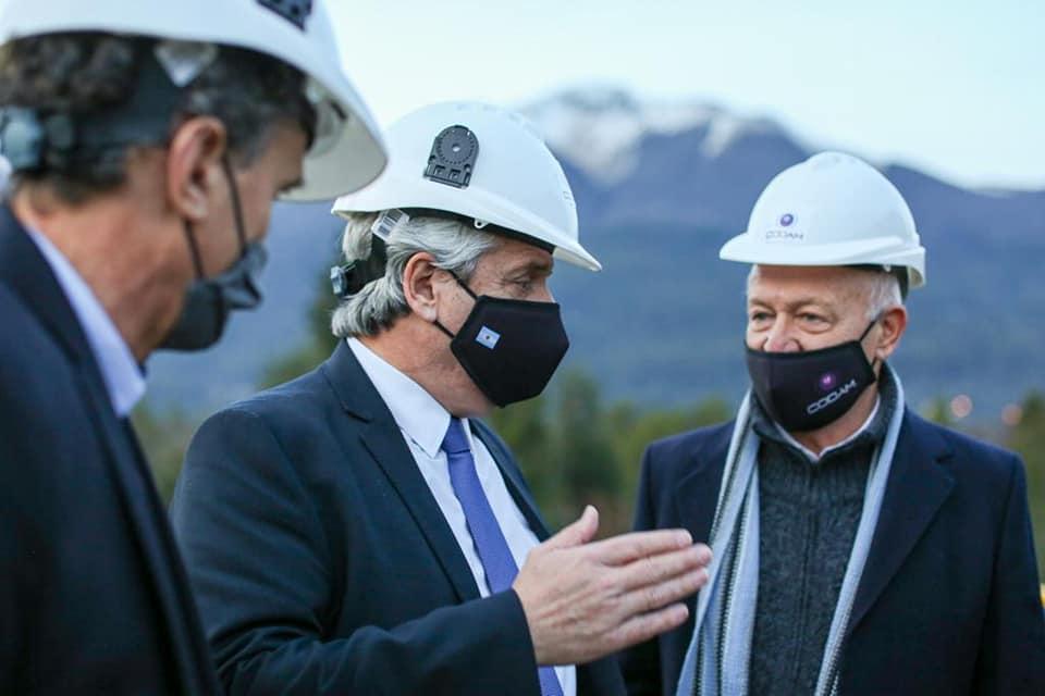 Alberto Fernández visitó Neuquén y La Pampa para inaugurar obras y firmar convenios