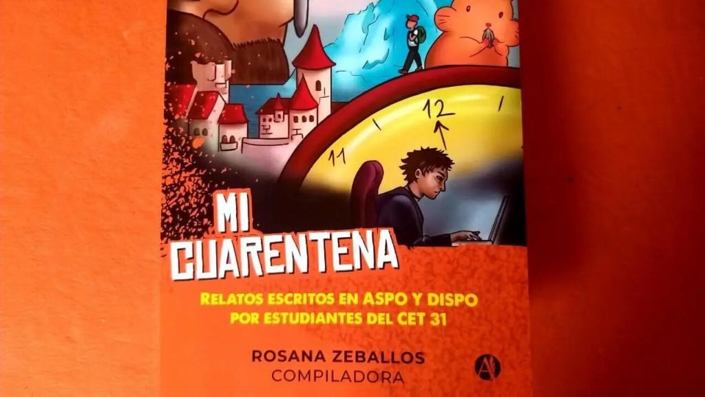 """""""Mi cuarentena"""": un proyecto escolar transformado en libro de microrrelatos de jóvenes rionegrinos"""