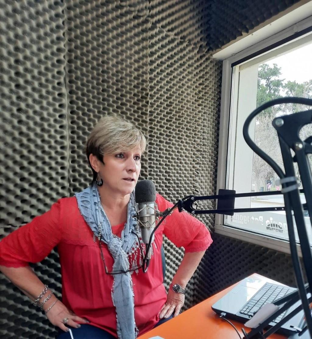 Patricia Fernández, Secretaria de servicios públicos, actual representante del Ministerio de Desarrollo Social en el Alto Valle Oeste.