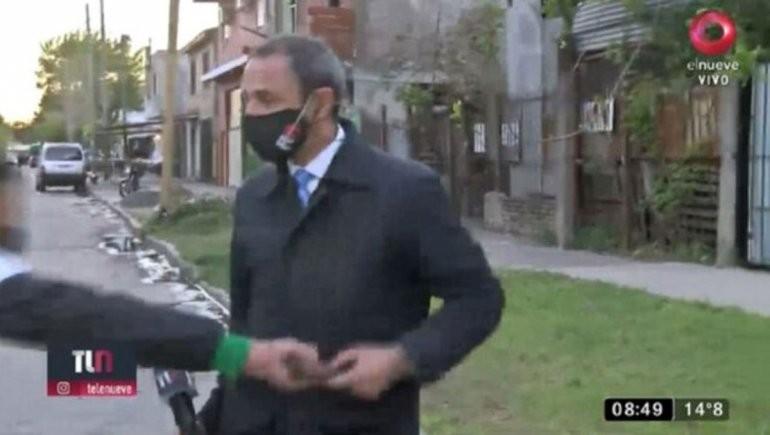 Le devolvieron el celular robado al periodista de Canal 9