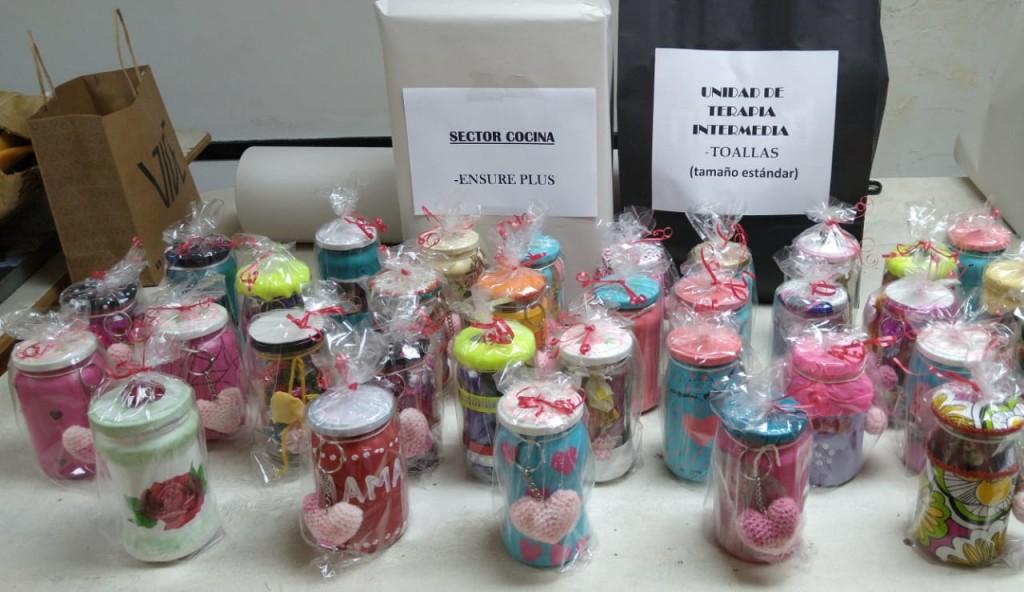 Las mamás internadas en el Hospital de Roca tuvieron su regalo solidario