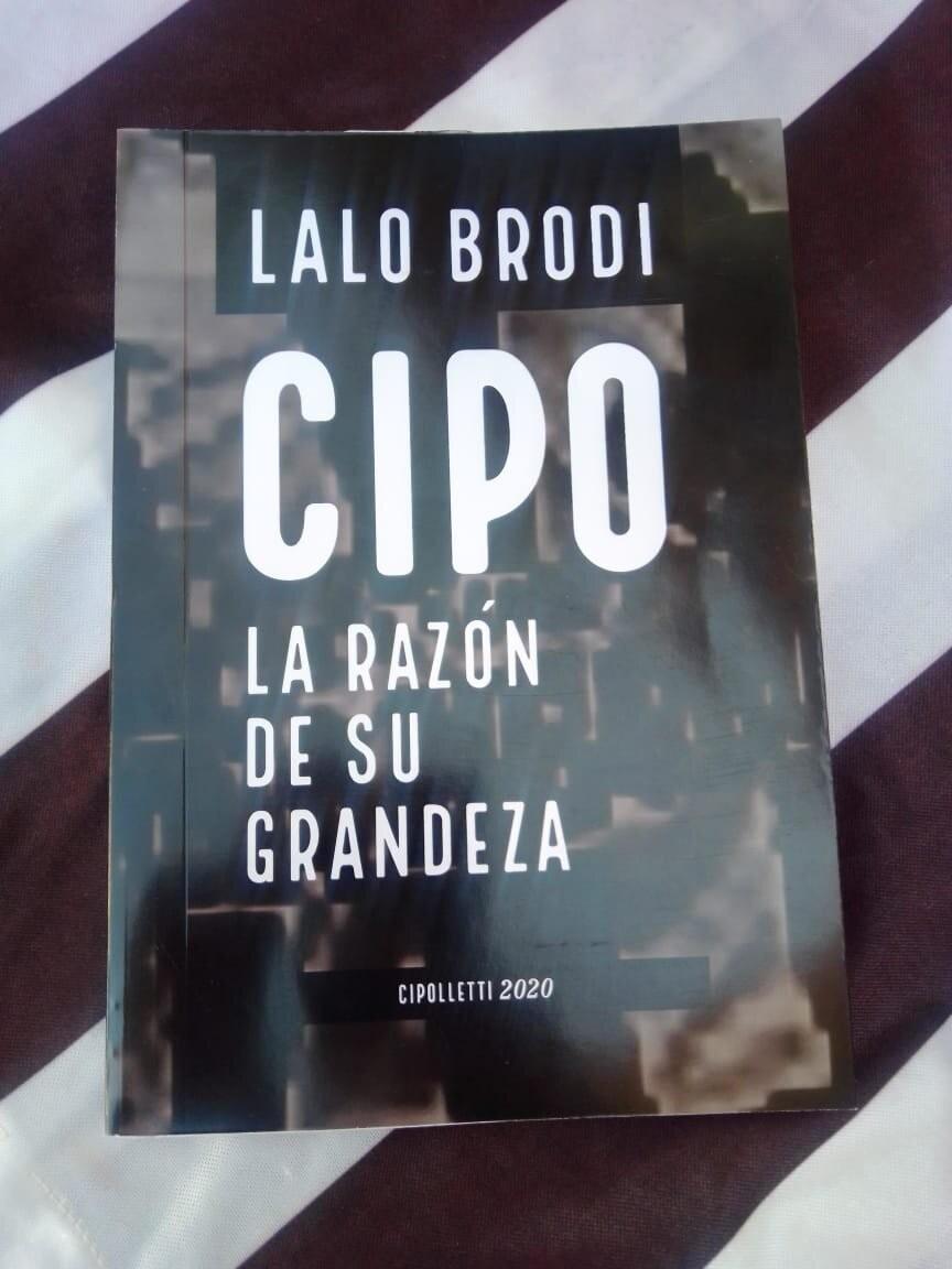 Lalo Brodi presenta su primer libro