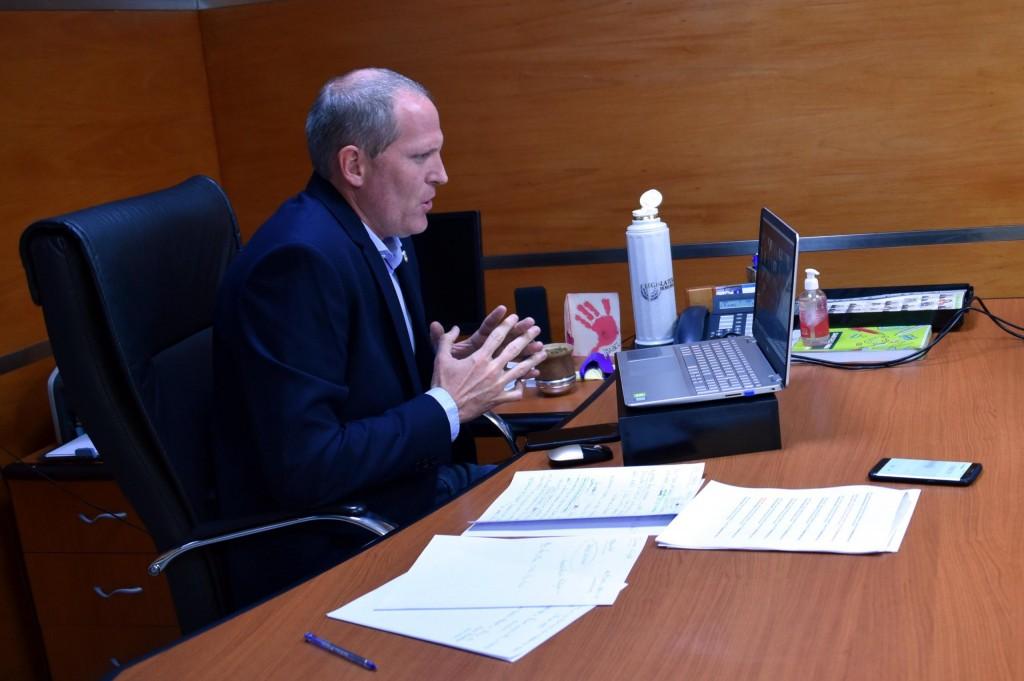 Palmieri se reunirá con el embajador argentino en China y vicegobernadores por exportaciones