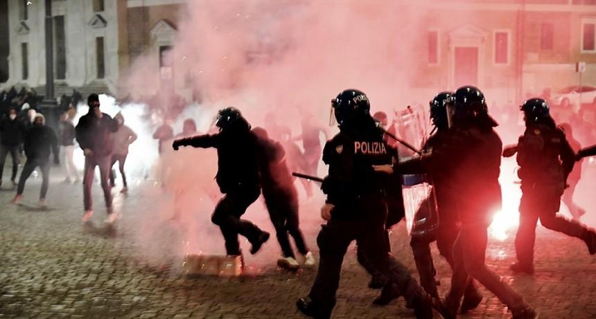 Italia: preocupa al Gobierno la radicalización de las marchas contra las medidas