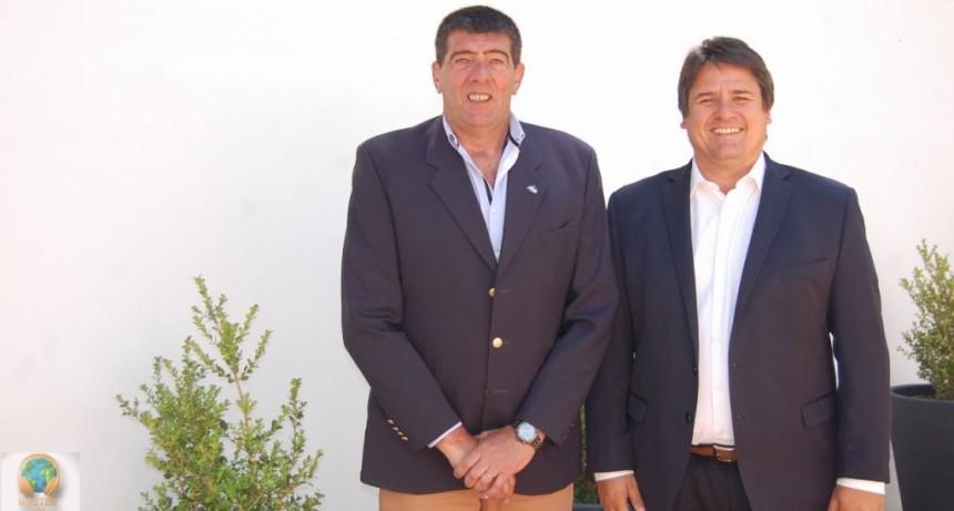 Di Tella y Gaido se reunieron en Neuquén para unificar agenda