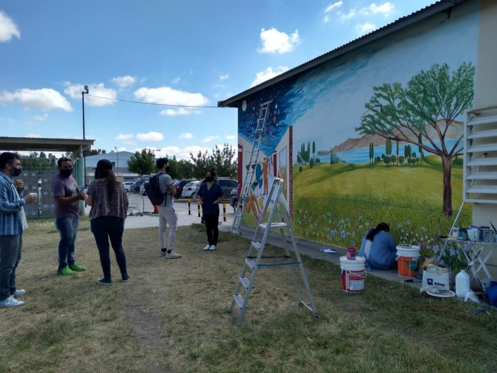 Cipolletti: Mural Homenaje a trabajadores de Salud será inaugurado el 20/11