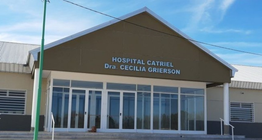 Catriel: mañana se inagura el hospital Cecilia Grierson
