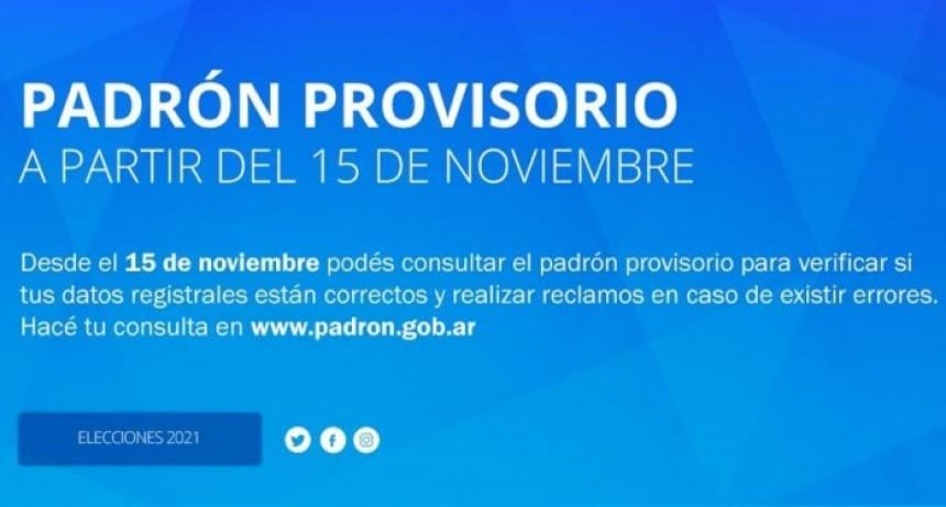 Disponibilidad de página web para consultas de padrón electoral
